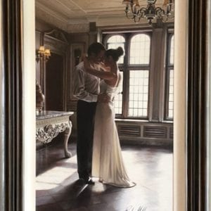 original painting of couple dancing by rob hefferan