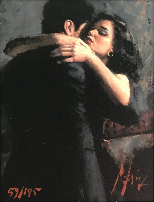 the embrace limited edition by fabian perez