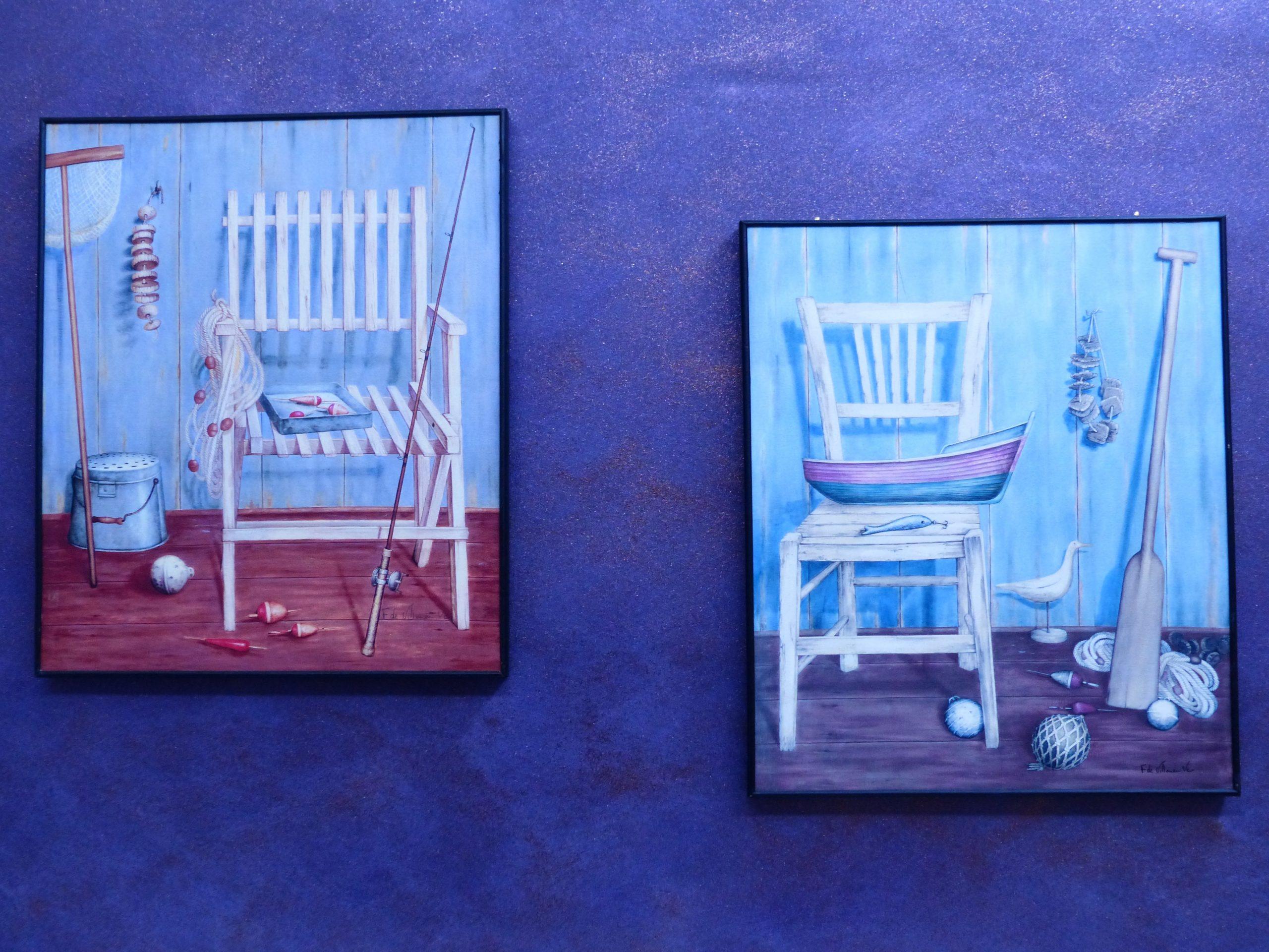 matching set of original artworks