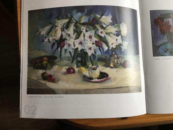 marion drummond catalogue image of apples with cream