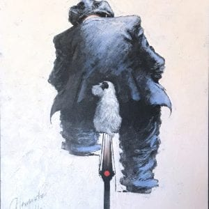 original artwork my best friend by alexander millar