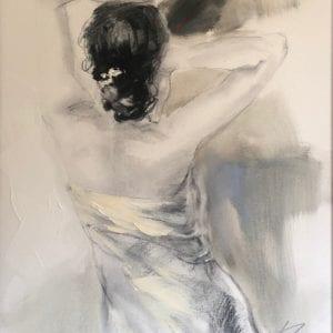 original sepia painting by anna razumovskaya
