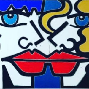 original urban art by female artist anna laurini